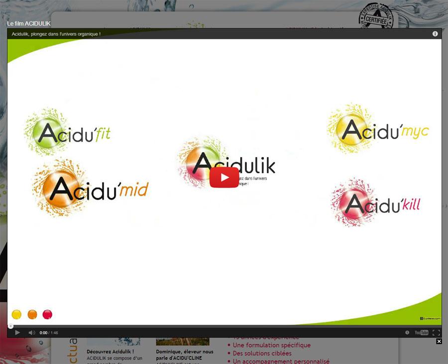 03 - Vidéo Acidulik