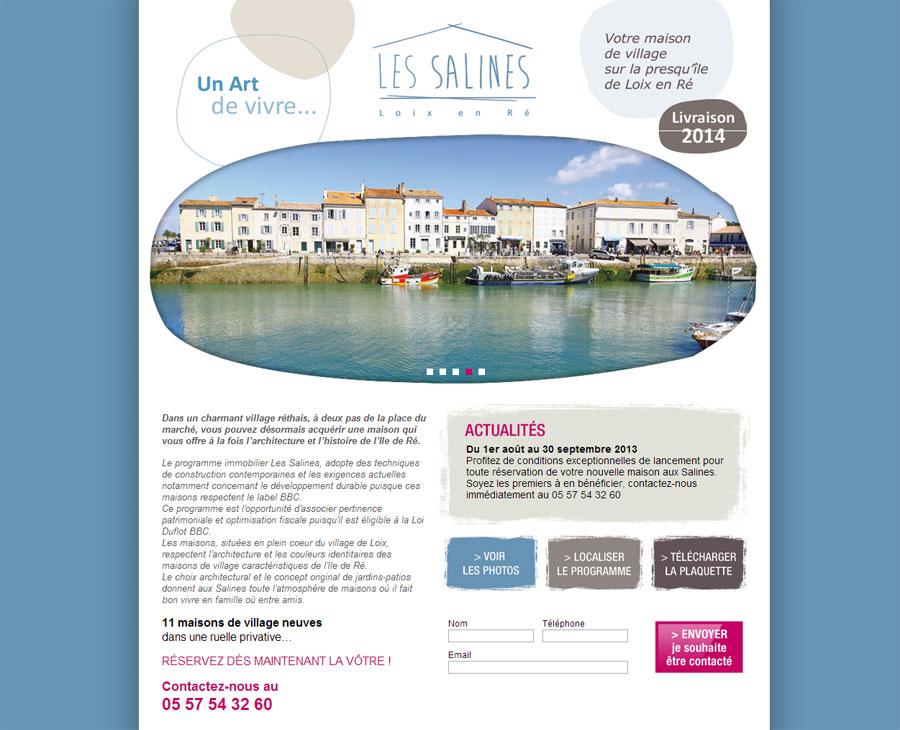 01 - Accueil Les Salines
