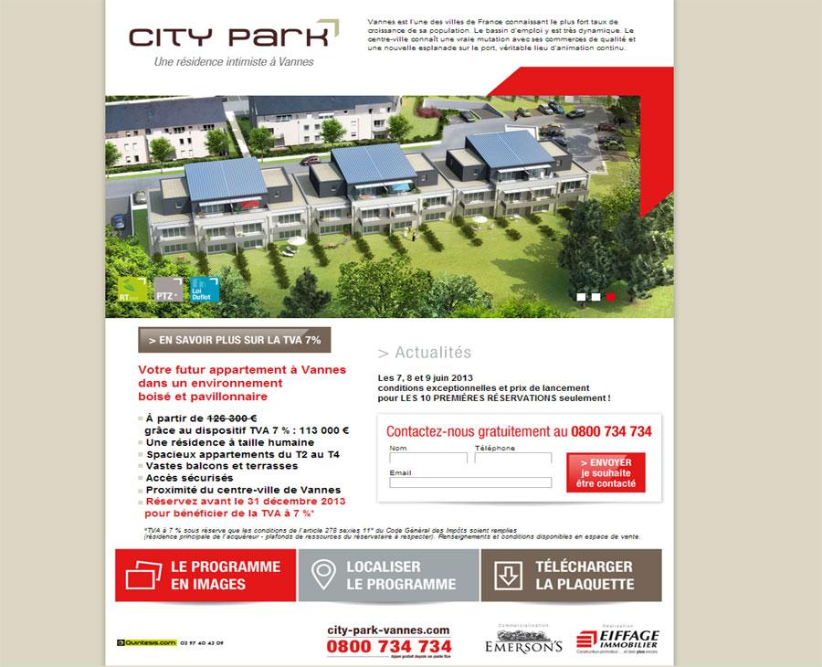 01 - Accueil City Park Vannes