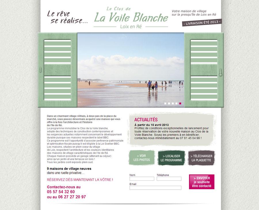 01 - Accueil Le Clos de La Voile Blanche