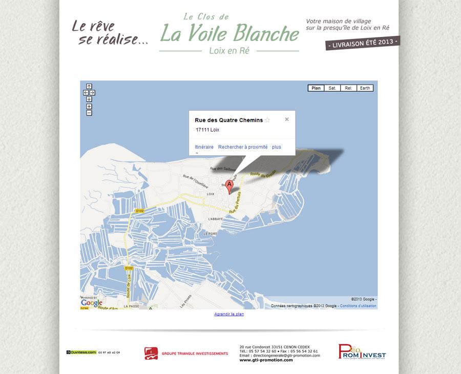 02 - Contact Le Clos de La Voile Blanche