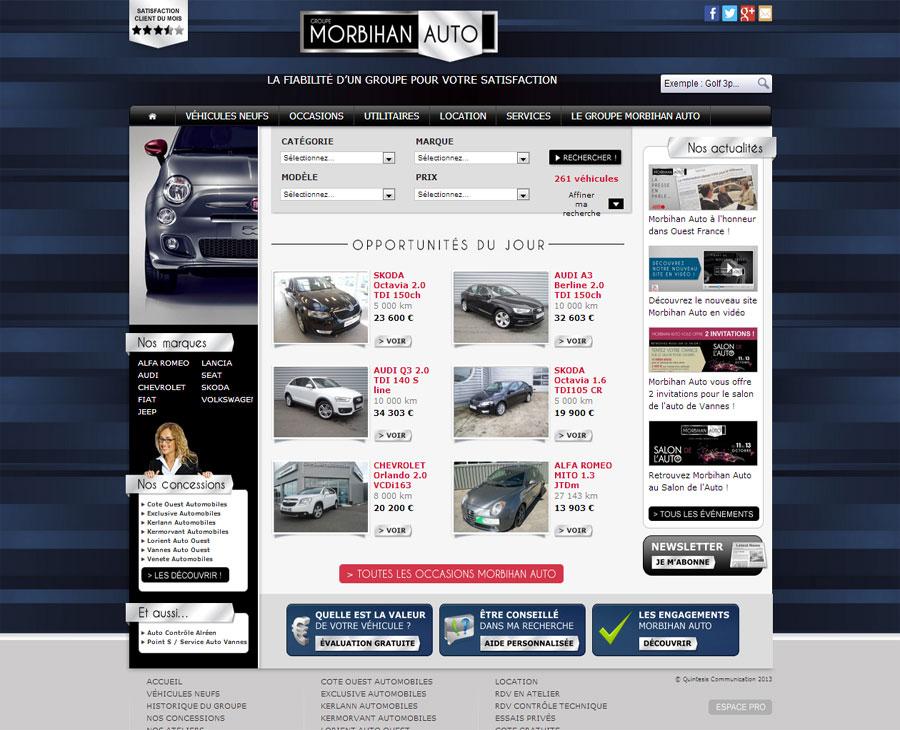 01 - Accueil Morbihan Auto