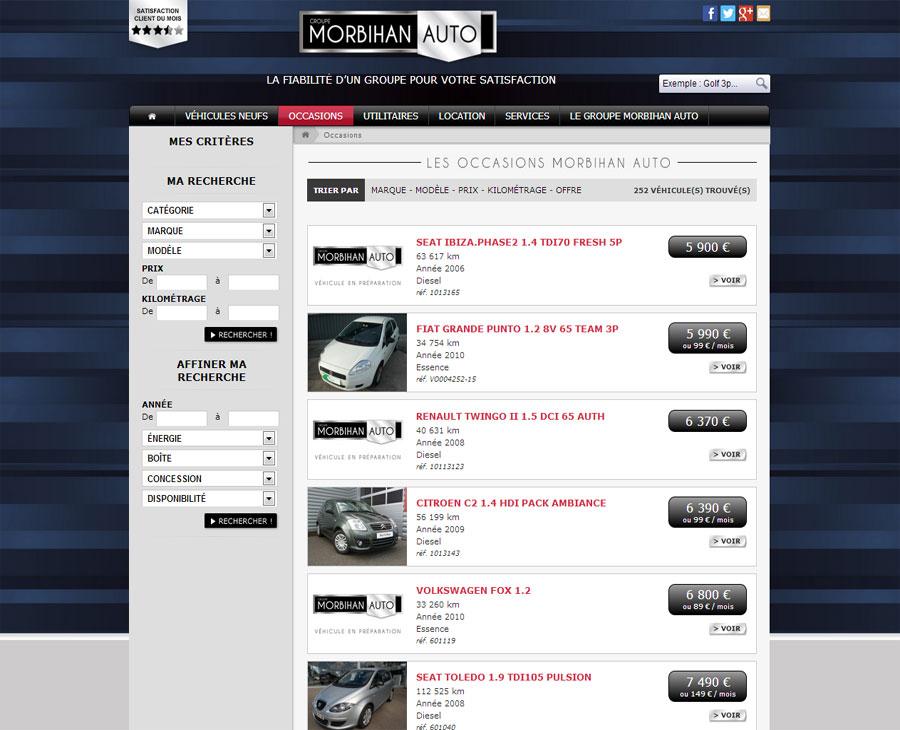 03 - Listing Véhicule Morbihan Auto