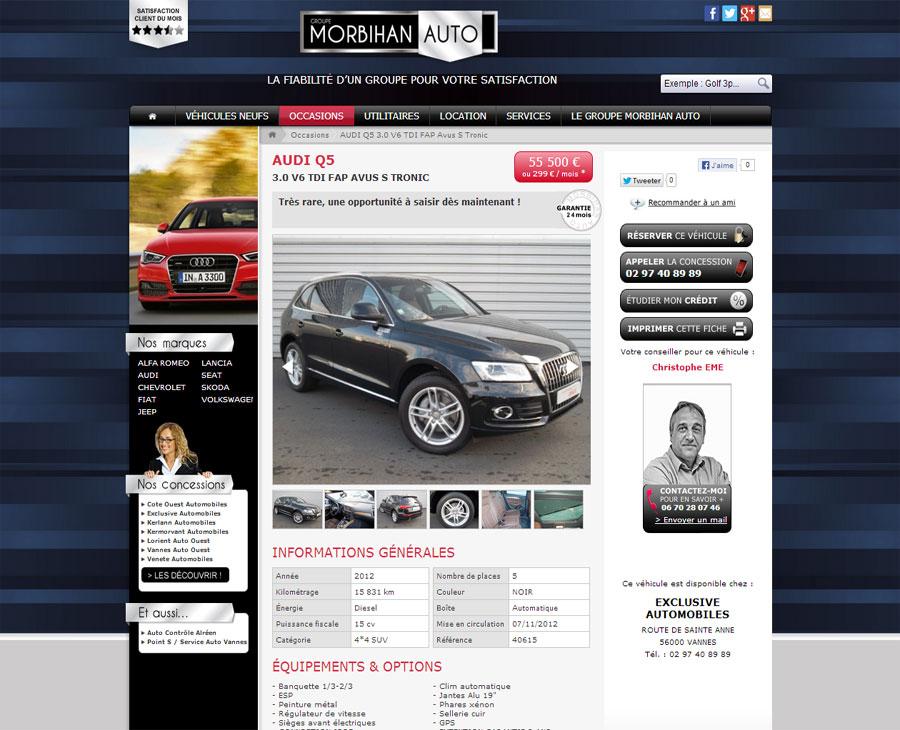 04 - Détail Véhicule Morbihan Auto