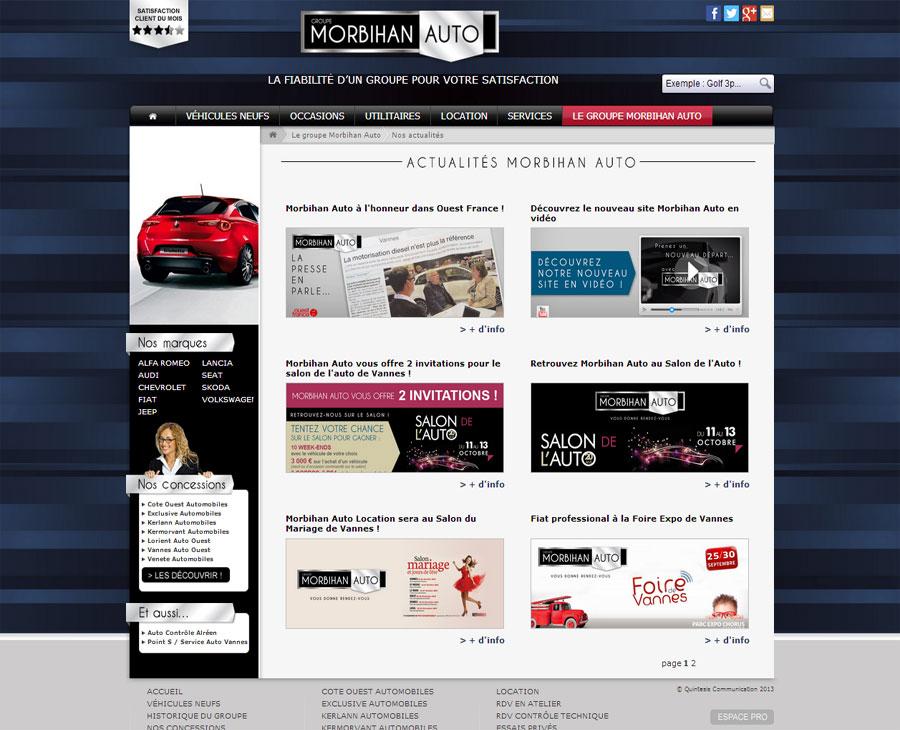 06 - Listing Actualités Morbihan Auto