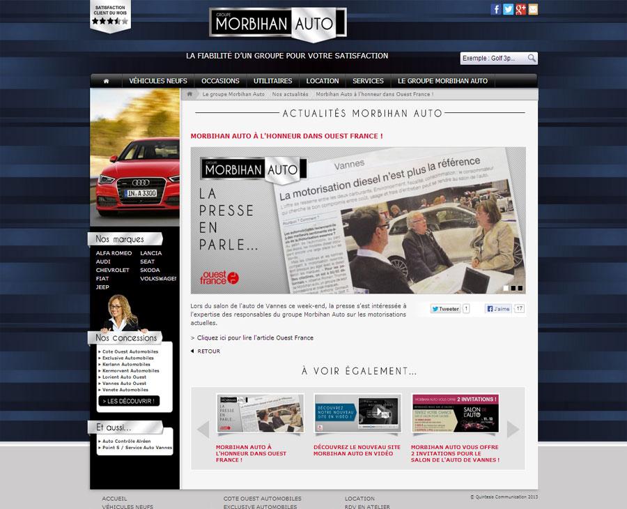 07 - Détail Actualités Morbihan Auto