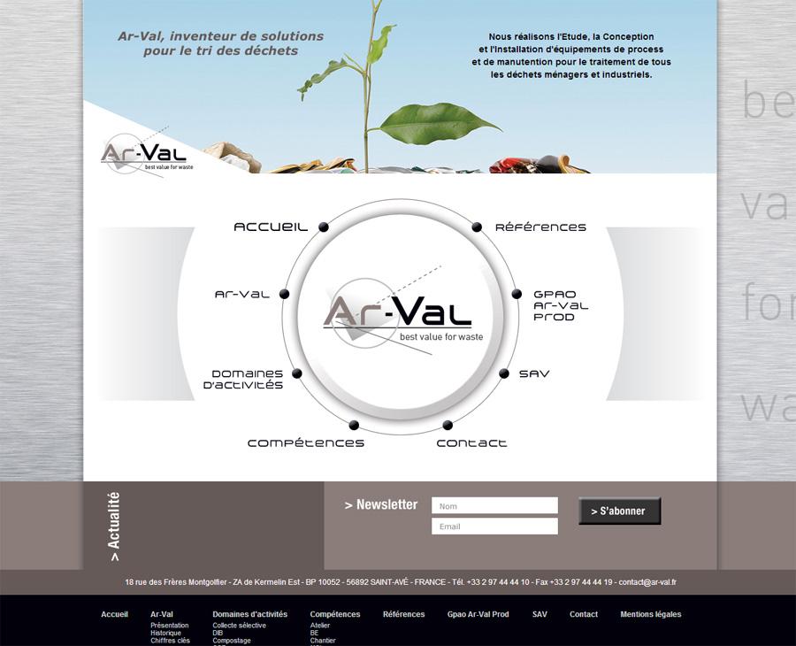 01 - Accueil Ar-val.fr