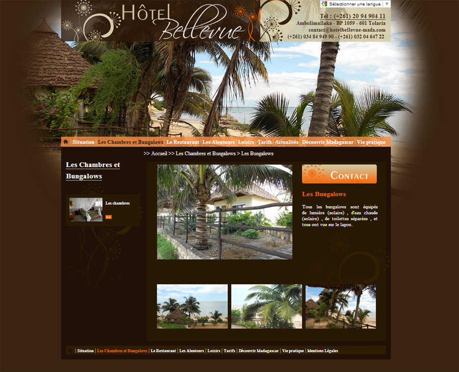 02 -Détail Hôtel Bellevue Madagascar