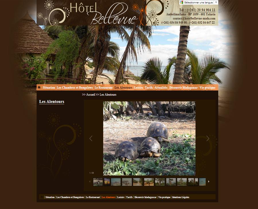 03 - Galerie Hôtel Bellevue Madagascar