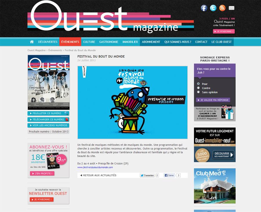 02 - Détail Ouest Magazine