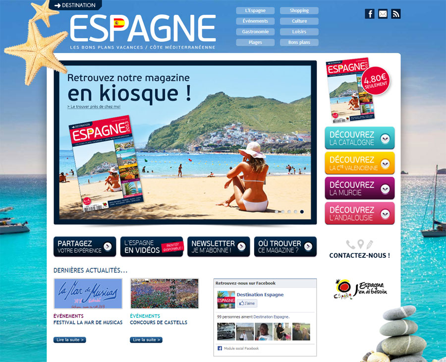 01 - Accueil Destination Espagne