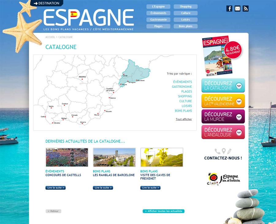 02 - Région Destination Espagne