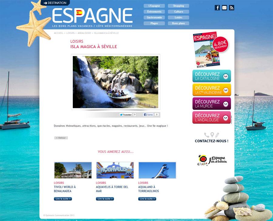 03 - Détail Destination Espagne
