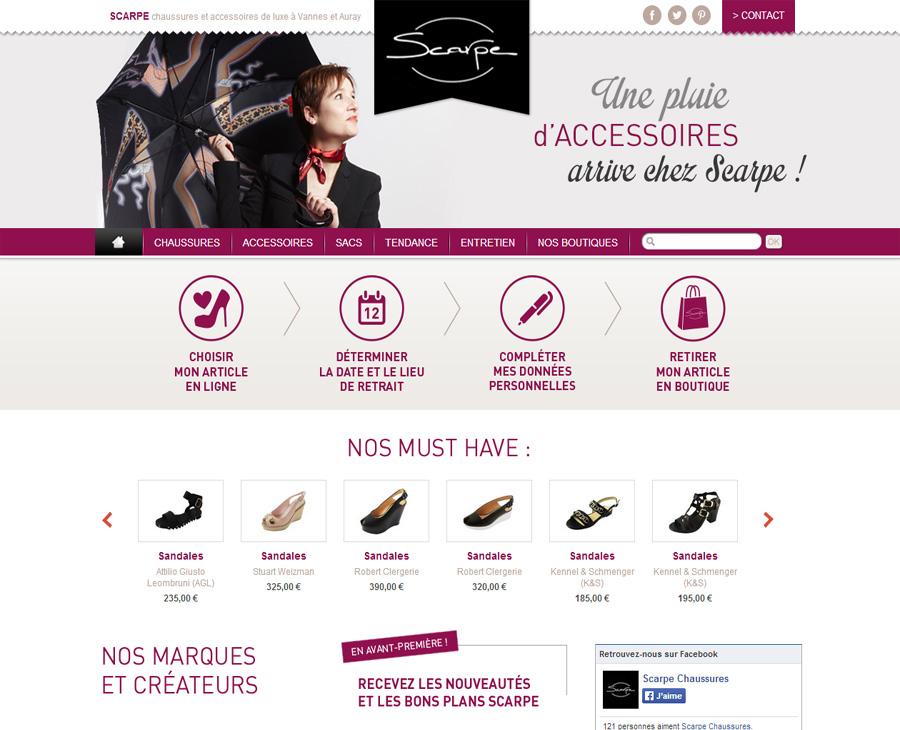 01 - Accueil SCARPE Chaussures