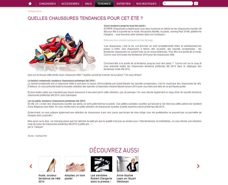 12 - Détail tendance SCARPE Chaussures