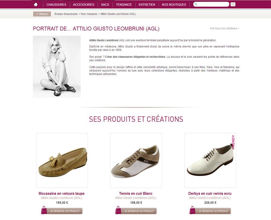 15 - Détail marques SCARPE Chaussures