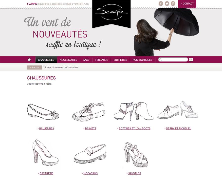 03 - Catégories SCARPE Chaussures