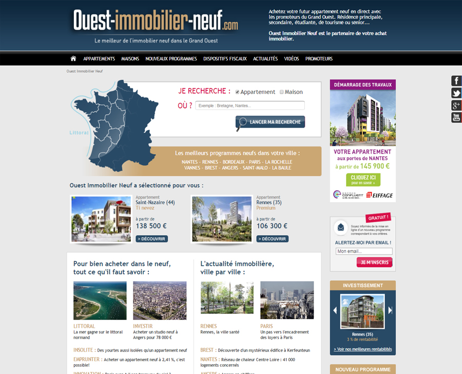 01 - Accueil Ouest Immobilier Neuf