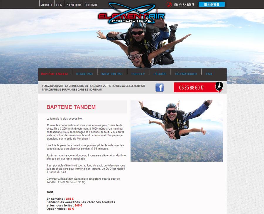 02 - Détail Elementair Parachutisme