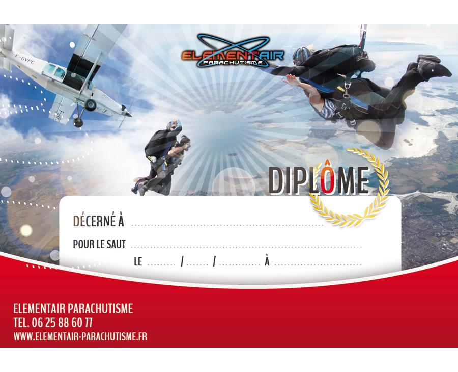 05 - Diplôme Elementair Parachutisme